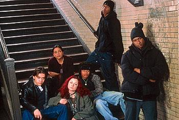 Clifton Collins Jr., Rosario Dawson , Sara Gilbert , Robert Ri'chard , Fredro Starr and Usher Raymond in Light It Up