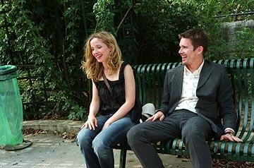 Julie Delpy and Ethan Hawke in Warner Independent's Before Sunset