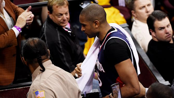Hawks' Horford ejected from Game 3 for elbow