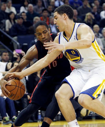 Warriors top Raptors 125-118 to snap 4-game skid