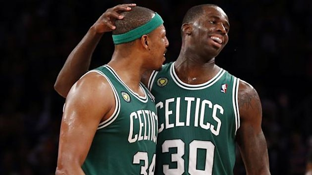 Paul Pierce, Brandon Bass - Boston Celtics