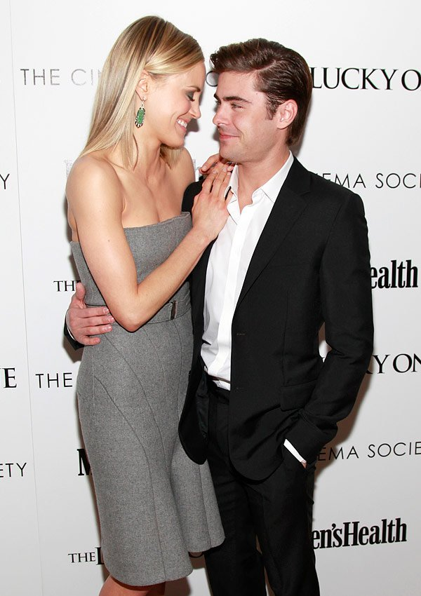 Zac Efron Dating 'Lucky One' Co-Star Taylor Schilling?