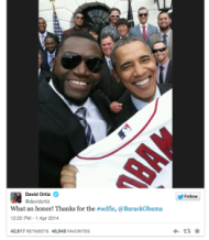 The Selfie Obsession: Did Samsung Go Too Far? image Ortiz and President Selfie