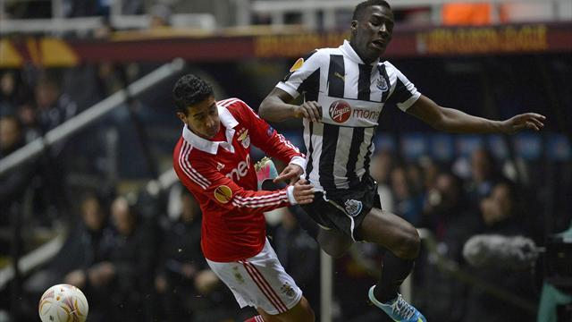 Europa League - Newcastle frustrated by Benfica