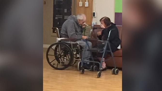 The Heartbreaking Story Behind Photo of Elderly Couple Crying