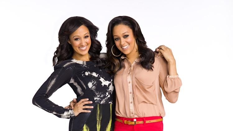 "Tamera and Tia in ""Tia & Tamera."""