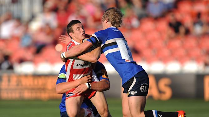 Rugby Union - J.P. Morgan Asset Management Premiership Rugby 7s - Group A - Bath Rugby 7's v Gloucester Rugby 7's - Kingsholm
