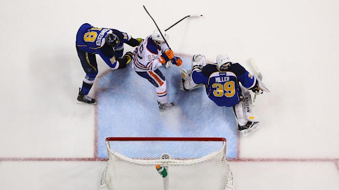 Edmonton Oilers v St. Louis Blues