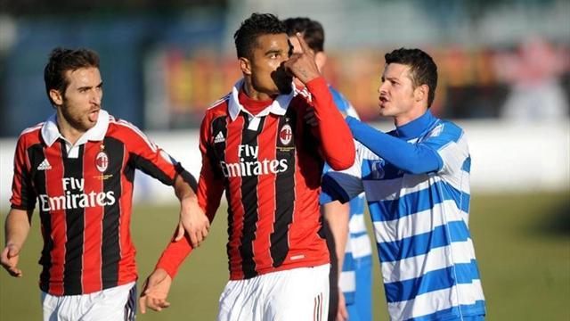 Serie A - Italian FA back Boateng walk off after racist abuse