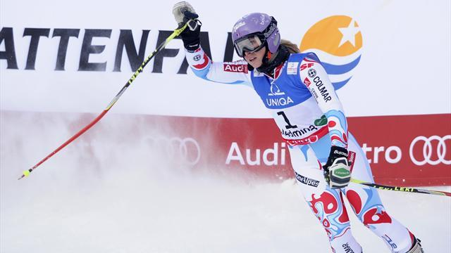 World Championships - Worley wins giant slalom gold in Schladming