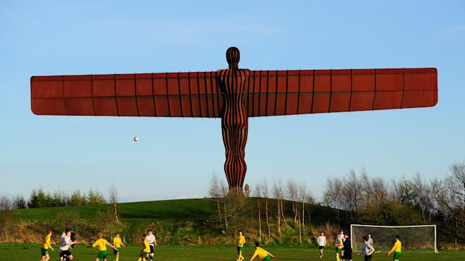 General Views Of Angel of the North