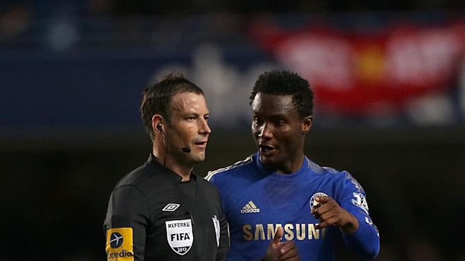 Mark Clattenburg, left, is expected to be backed by his fellow officials