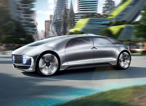 Self Driving Mercedes Benz Luxury In Motion Concept Car