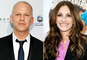 Ryan Murphy, Julia Roberts    Photo Credits: Robin Marchant/Getty Images, Frazer Harrison/Getty Images