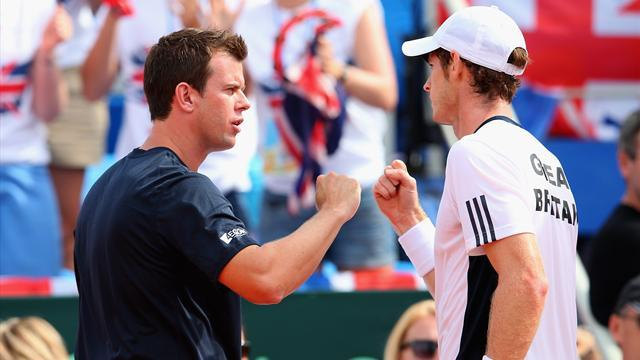 Davis Cup - Murray takes Britain back into World Group