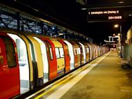 An empty London Underground train waits at Edgware Tube station in west London almost two hours after the start of a 24-hour strike on the network on October 3, 2010. Arsenal have postponed their Premier League game with West Ham United on December 26 due to planned industrial action affecting London's Underground transport network, the club announced on Wednesday