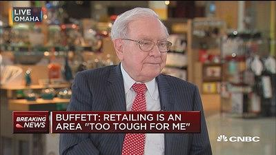 Warren Buffett on the one stock that he 'missed big time