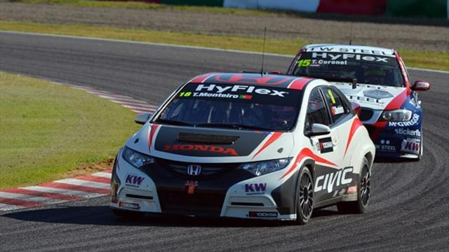WTCC - Monteiro fastest in Macau test session
