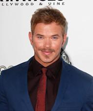 Kellan Lutz reading up on Fifty Shades for Elliot Grey role
