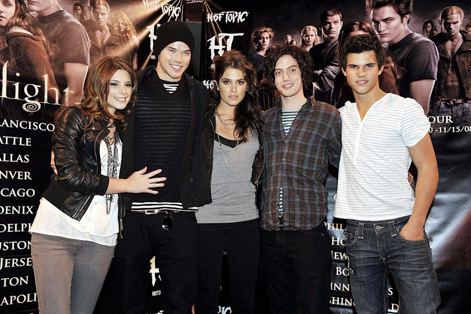Taylor Lautner 2008 Ashley Greene Kellan Lutz Nikki Reed Jackson Rathbone