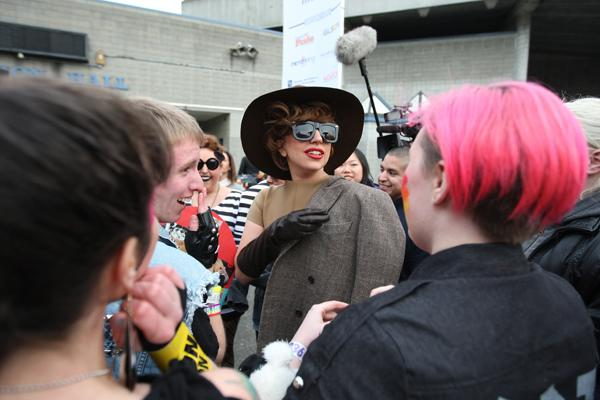 Lady Gaga Changing Lives With Touring Youth Services