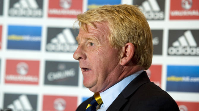 Soccer - 2014 FIFA World Cup Qualifying - Group A - Scotland v Belgium - Scotland Team Announcement - Hampden Park