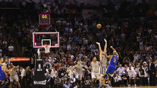 Golden State Warriors v San Antonio Spurs - Game One