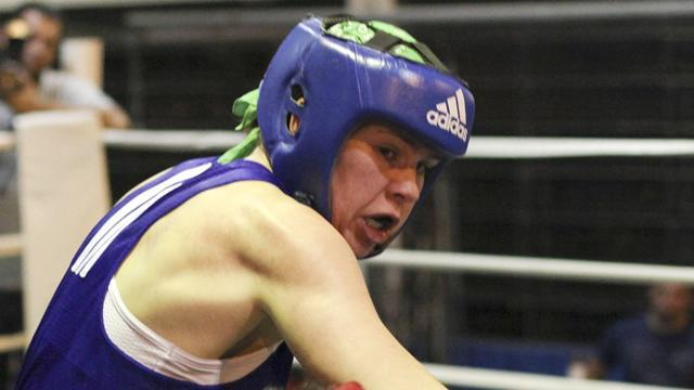 Boxing - Marshall fires warning shot