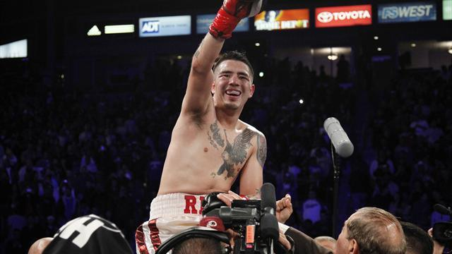 Boxing - Rios-Alvarado re-match set for March