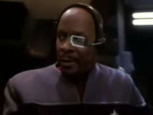 The skull brace and glass eye patch? He's needs it for work!