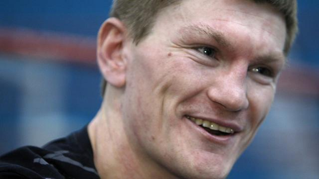 Boxing - Hatton training Kazakhstan's Zhakiyanov