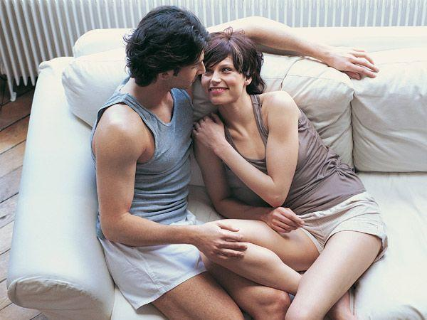 Image courtesy : iDiva.comSitting up: In this sex position, you can use a chair as a prop and sit on your partner's lap while he places himself on the chair. This way there is no weight on your belly