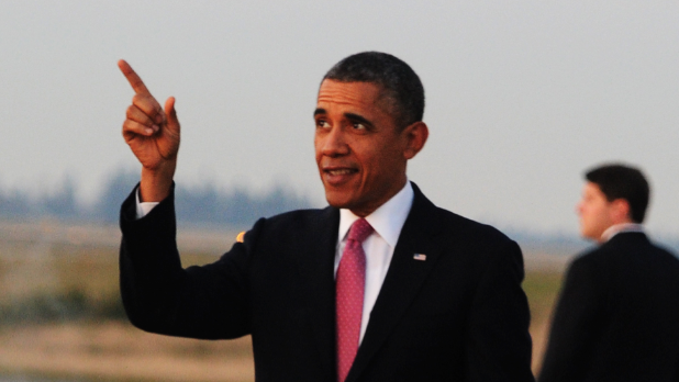 Obama L.A. Visit Includes DreamWorks Animation Stop, Magic Johnson Reception (Updated)