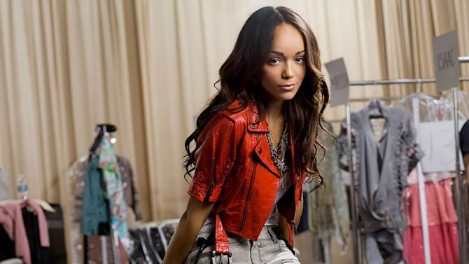 "Ashley Madekwe as Marissa in ""The Beautiful Life."""