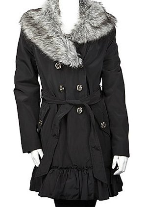 Betsey Johnson Double Breasted Coat