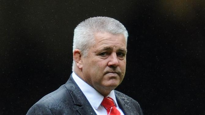 Wales' New Zealand coach Warren Gatland walks on the pitch before the Six Nations International rugby union match between Wales and France at the Millennium Stadium in Cardiff, Wales, on March 17, 2012. AFP PHOTO/FRANCK FIFE   RESTRICTED TO EDITORIAL USE. (Photo credit should read FRANCK FIFE/AFP/Getty Images)