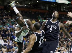 Nets rally for 97-96 win over Boston