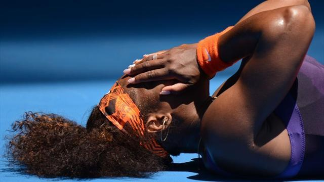 Australian Open - Serena joins hundreds seeking help