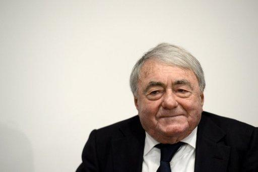 """French film-maker Claude Lanzmann pictured on February 13, 2013 during the 63rd Berlin film festival. Lanzmann, renowned for his ground-breaking 1985 documentary """"Shoah"""", will accept a lifetime achievement award on Thursday"""