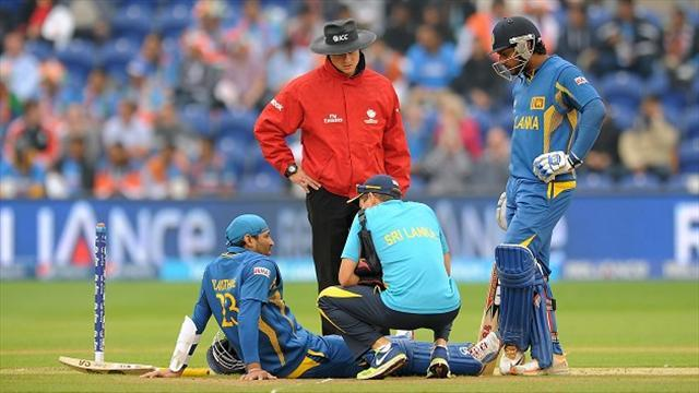 Cricket - Sri Lanka under the cosh