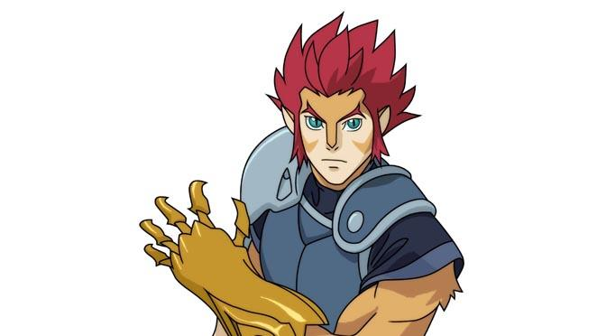 "Lion-O in ""Thundercats."""