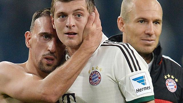 Premier League - Paper Round: United land Kroos, on verge of Robben deal
