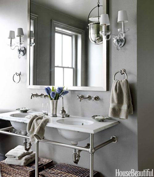 Washstand With Towel Bars