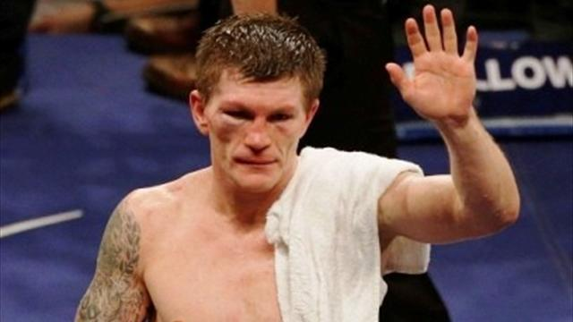 Boxing - Hatton retires after comeback ends in knockout