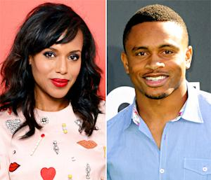 Kerry Washington, Husband Nnamdi Asomugha Have Sweet Night Out After SNL Appearance