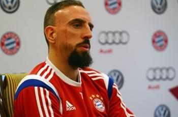 My son could play for Germany one day, says Franck Ribery