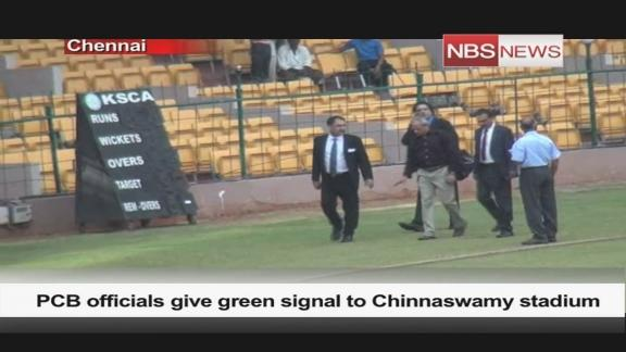 PCB officials give green signal to Chinnaswamy stadium