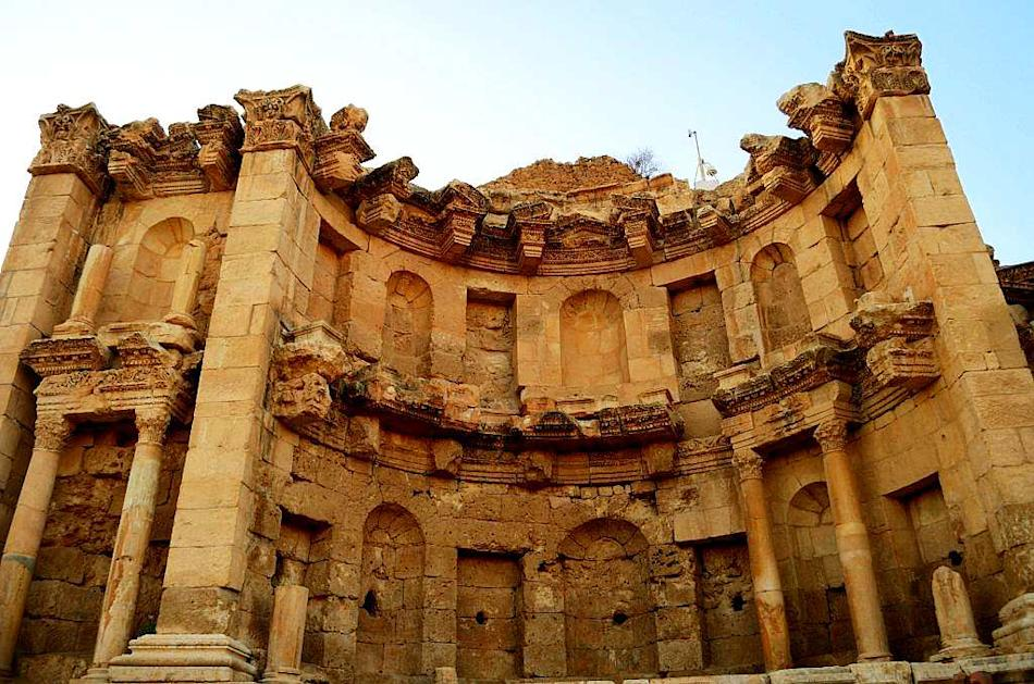 Travel Jordan Jerash Lakshmi Sharath