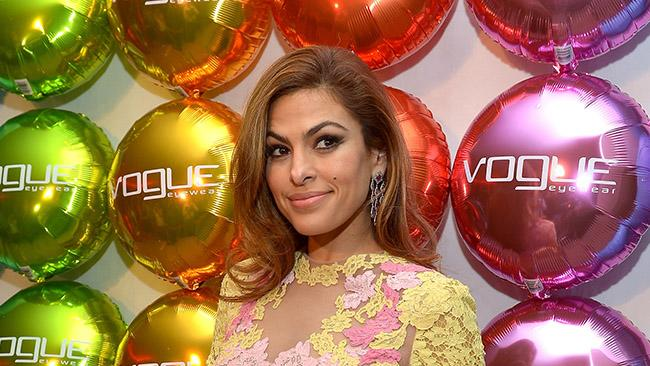 Vogue Eyewear And Eva Mendes Celebrate The Launch Of The Spring/Summer Communications Campaign