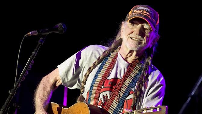 Willie Nelson performs at The Backyard Live Oak Amphitheater in Austin, Texas, on Sunday, April 28, 2013. The concert was an early birthday celebration for Nelson, who turns 80 on Tuesday, and it was a benefit for the volunteer fire department in West, Texas, which is nearby where Nelson grew up in Abbott, Texas. A fertilizer plant exploded April 17 killing at least 14 people, including emergency responders, and hurting about 200 others.  (AP Photo/Austin American-Statesman, Jay Janner) AUSTIN CHRONICLE OUT, COMMUNITY IMPACT OUT, MAGS OUT; NO SALES; INTERNET AND TV MUST CREDIT PHOTOGRAPHER AND STATESMAN.COM.